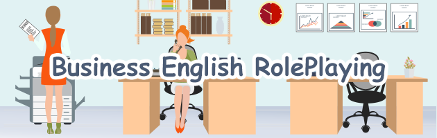 ビジネス英会話ロールプレイ