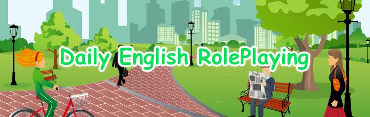 日常英会話ロールプレイ
