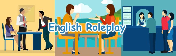 旅行英会話ロールプレイ